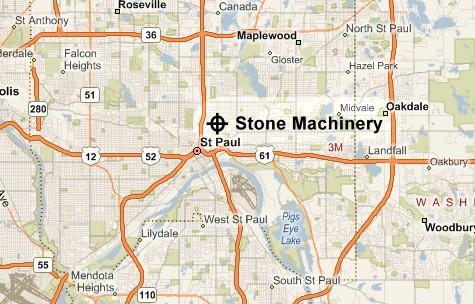 Stone Machinery, St. Paul, MN