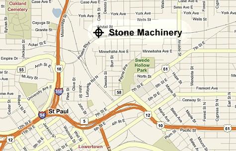 Stone Machinery Map